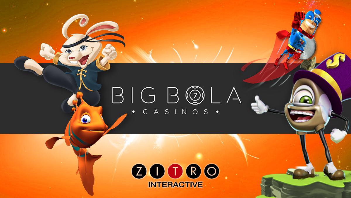 Zitro games arrive to Big Bola Online