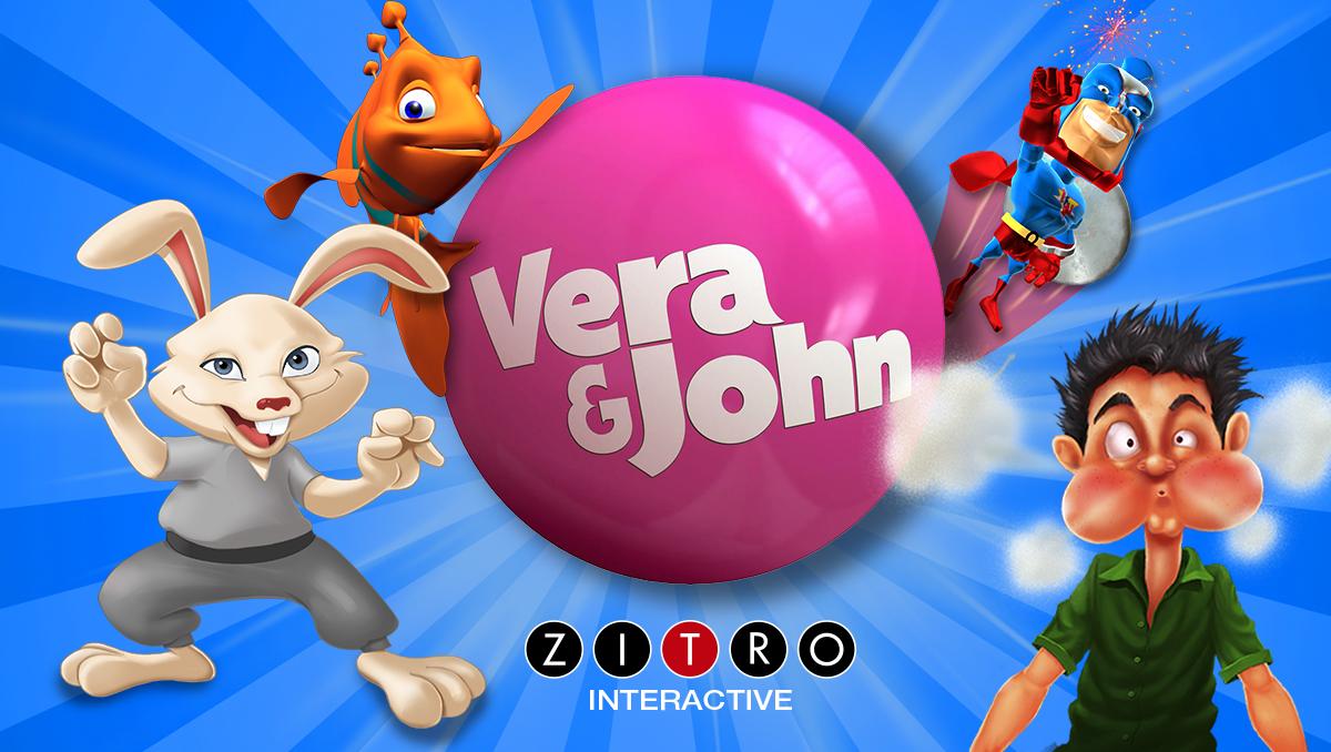 Zitro arrives at the online casinos Vera&John