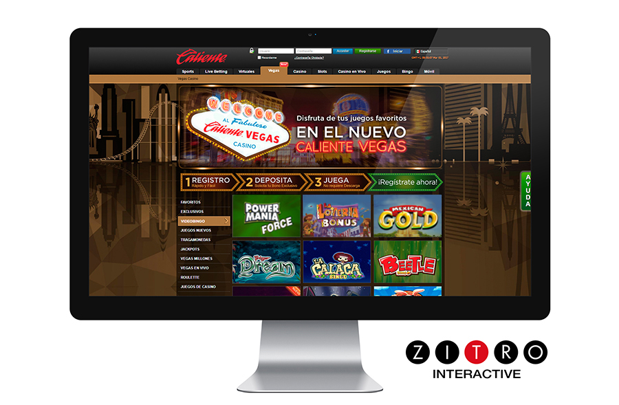 Zitro expands its game offer at the Caliente online casino