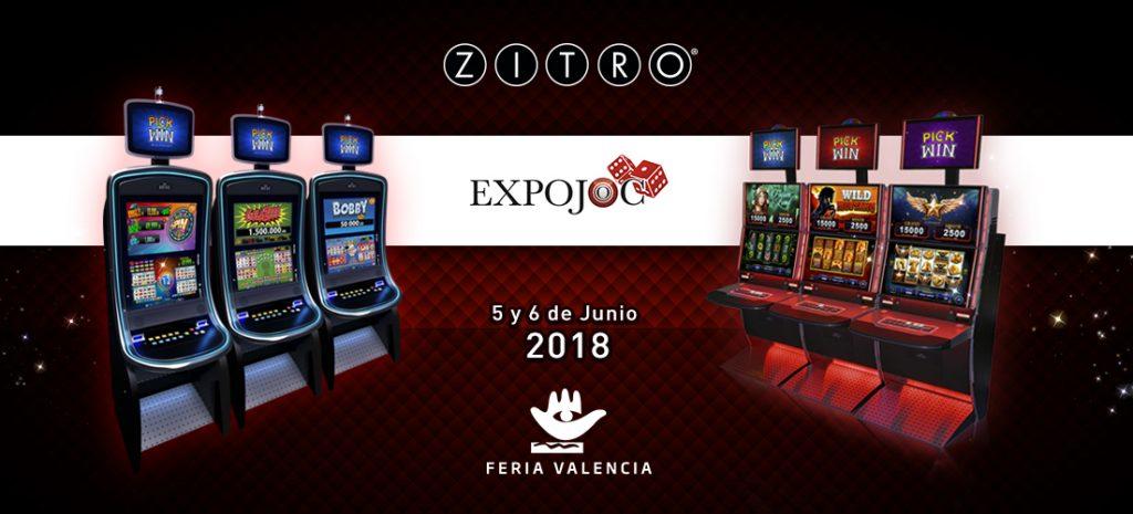 Zitro will shine in Valencia - News - Zitro Games