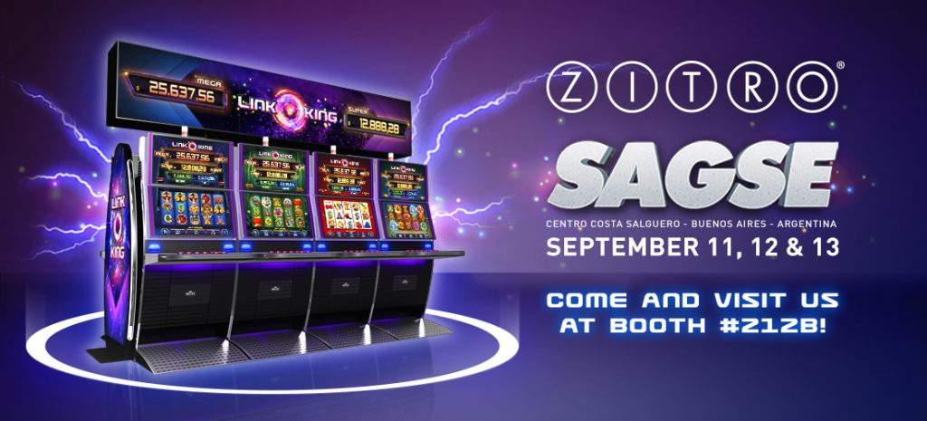 Zitro Presents Its Impressive And Proven Range Of Video Slots And Video Bingo Games At SAGSE Buenos Aires