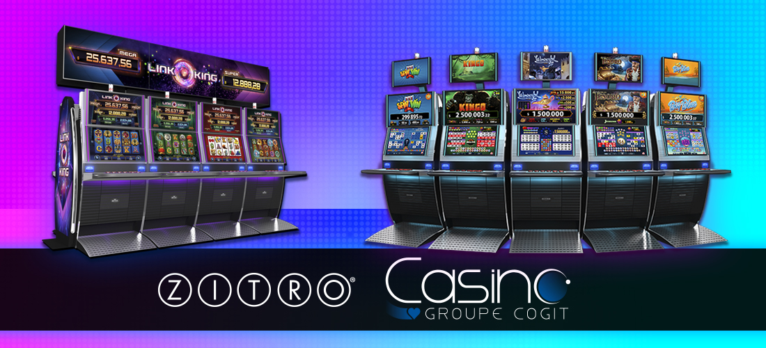 Mascot announces the arrival of Zitro games to the Cogit Group of casinos