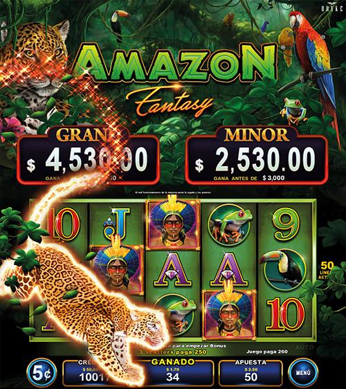 Video Slot - Multigame Standalone - Pick & Win - Amazon Fantasy