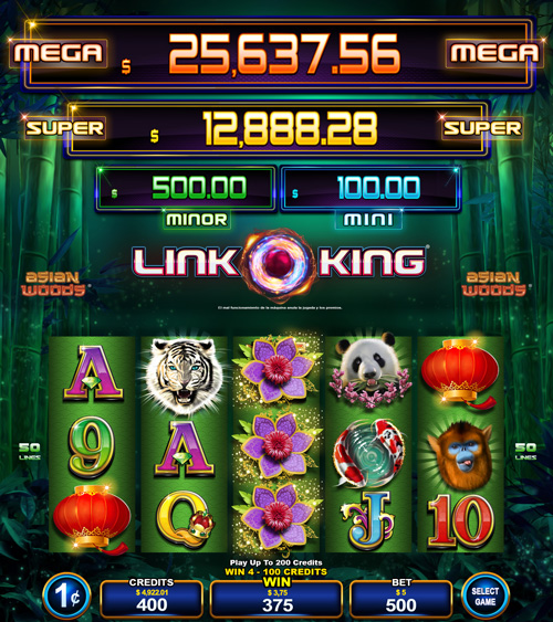 Multigame Panoramic - Link King - Asian Woods