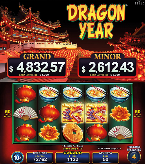 Video Slot - Multigame Standalone - Pick & Win - Dragon Year