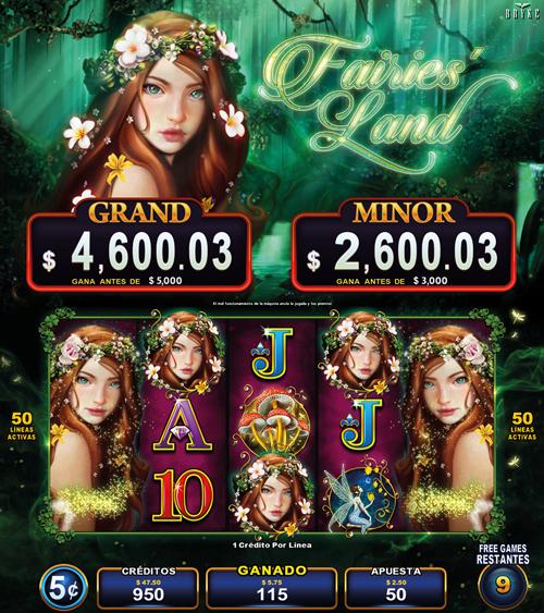 Video Slot - Multigame Standalone - Pick & Win - Fairies Land