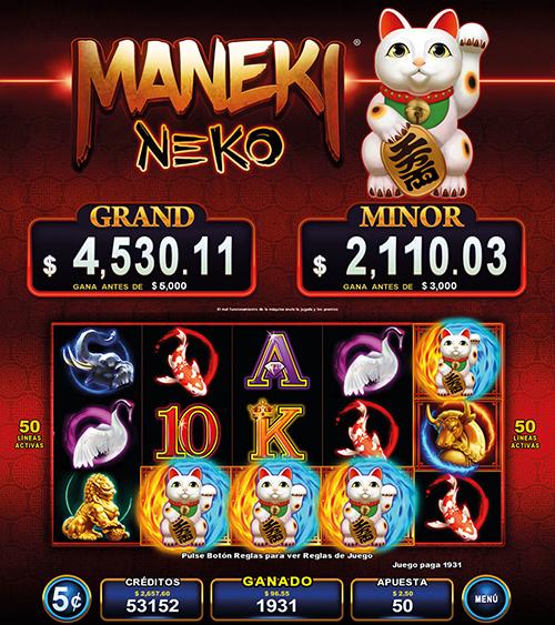 Video Slot - Multigame Standalone - Pick & Win - Maneki Neko