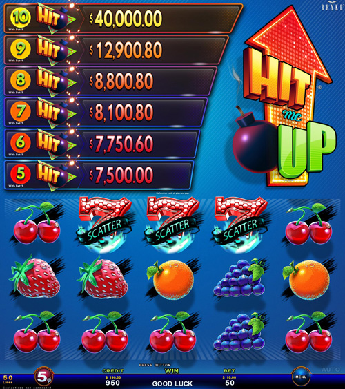 Video Slot - Multigame Panoramic - Hit Me Up - Royal Fruits