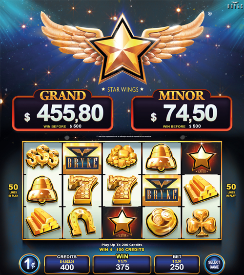 Video Slot - Multigame Standalone - Hot Deal - Star Wings