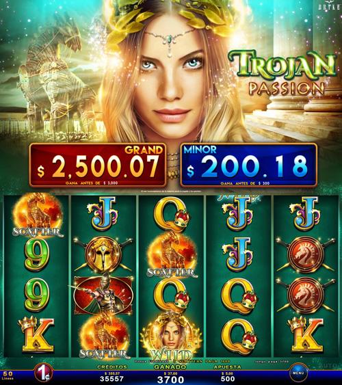 Zitro Games - Video Slot - Multigame Standalone - Trojan Passion