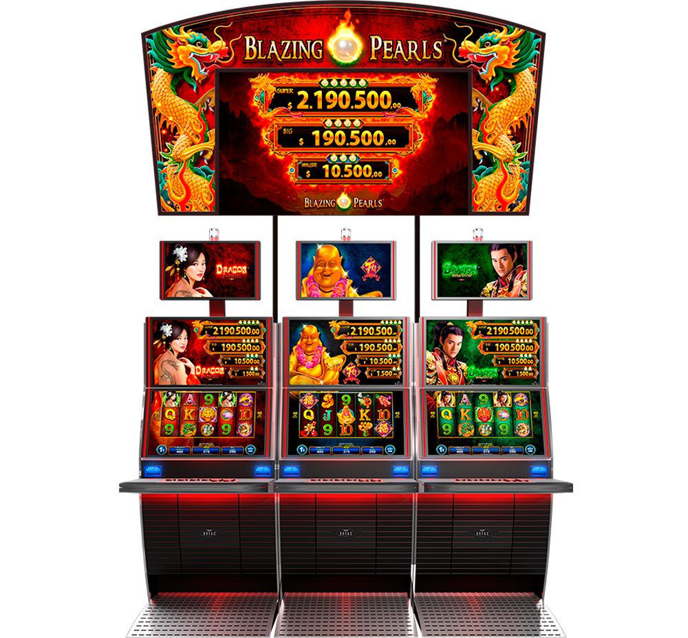 Blazing pearls slots