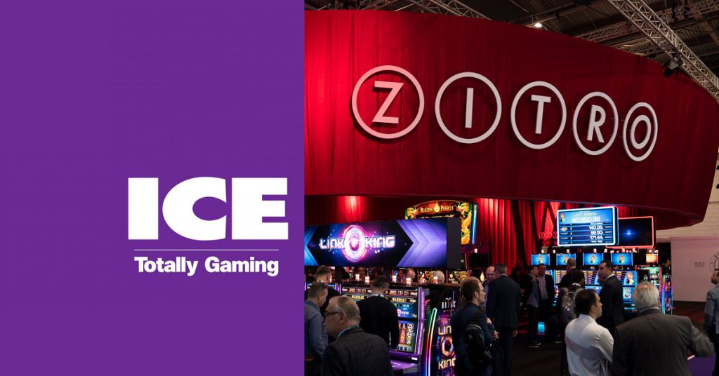 Zitro confirmed as a global supplier at ICE