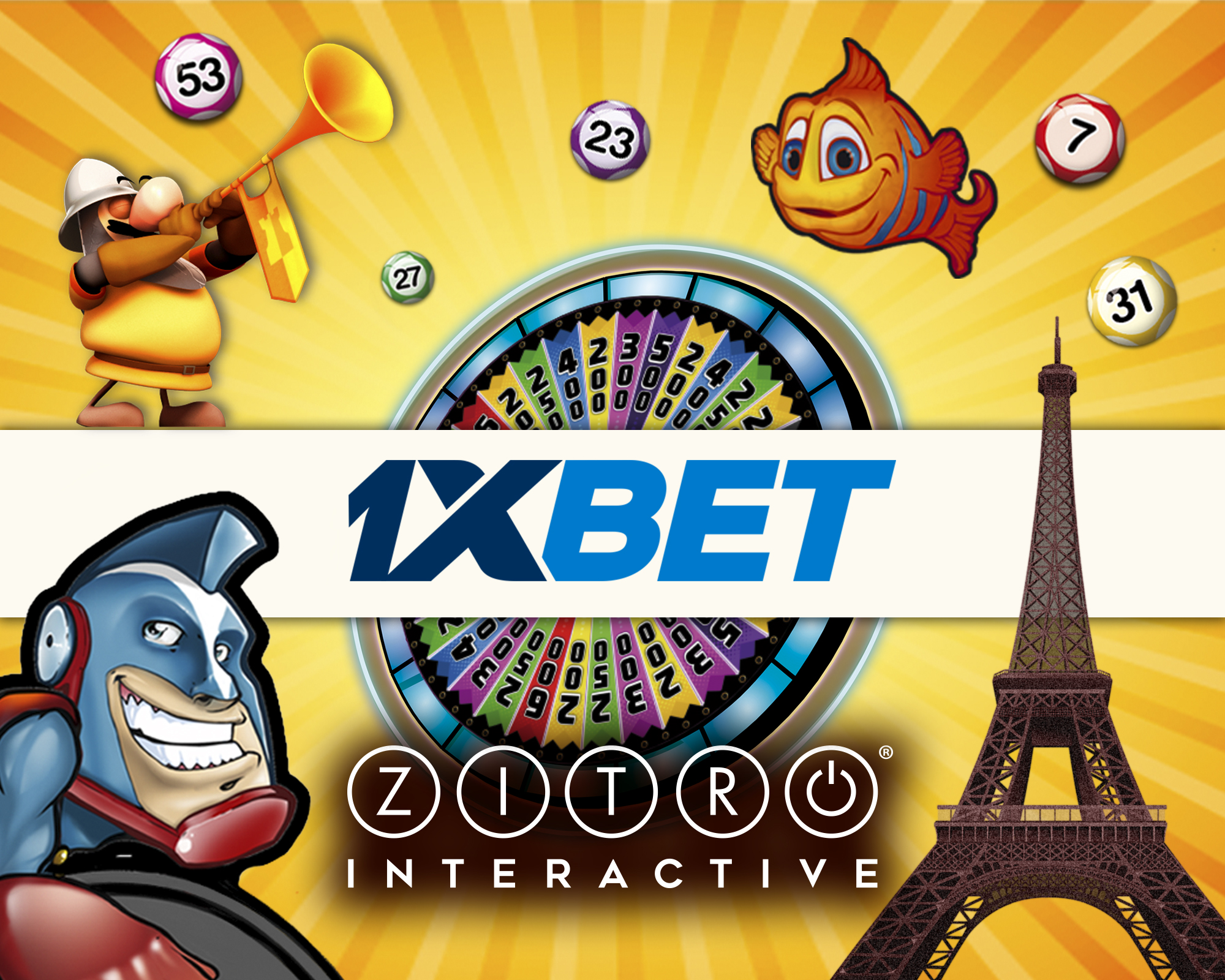 Zitro's online games now available at 1xbet.com