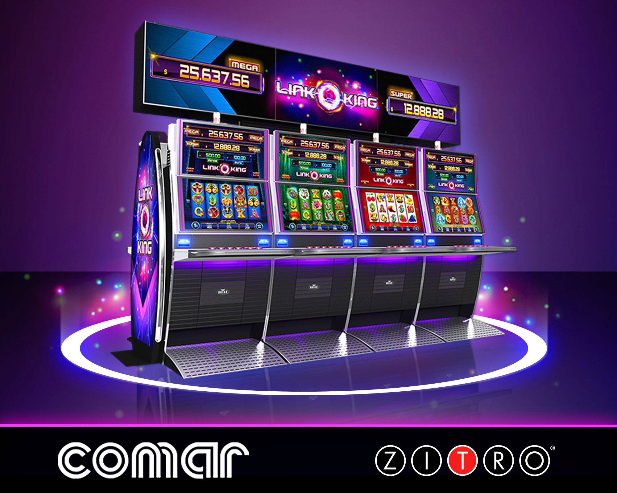 Zitro arrives to the casinos of COMAR group in the Dominican Republic