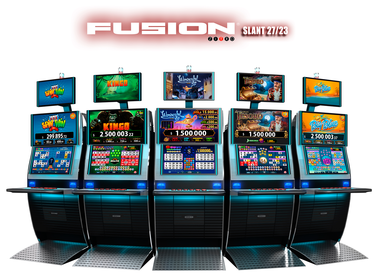 PlayCity bets on the new Fusion cabinets from Zitro