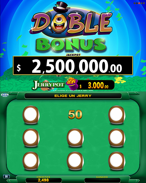Video Bingo Doble Bonus