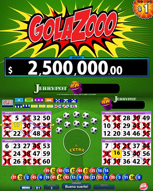 Video Bingo Golazooo