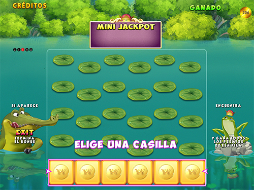 Video Bingo Jumping Frog