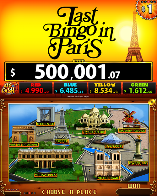 Last Bingo in Paris