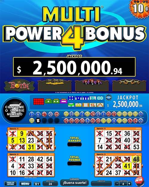Multi Power Bonus 4