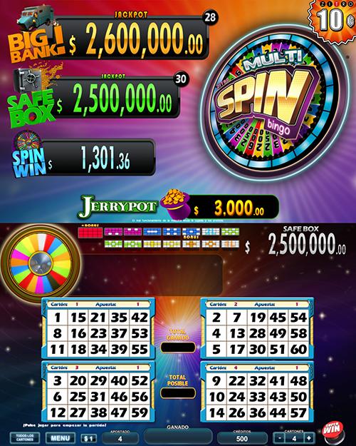 Multi Spin Bingo