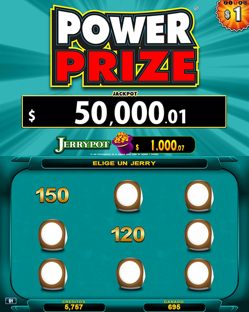 Video Bingo Power Prize