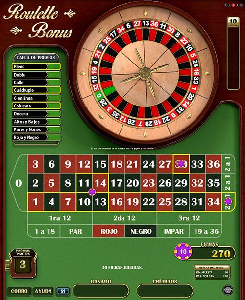 Video Bingo Royal Roulette