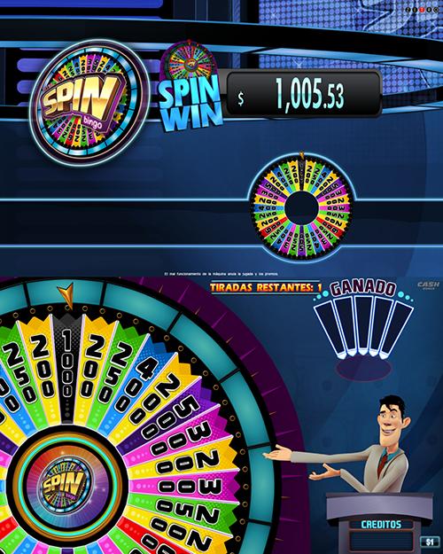 Video Bingo Spin Bingo