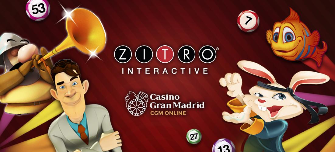 Zitro Games available at Casino Gran Madrid Online - News - Zitro Games