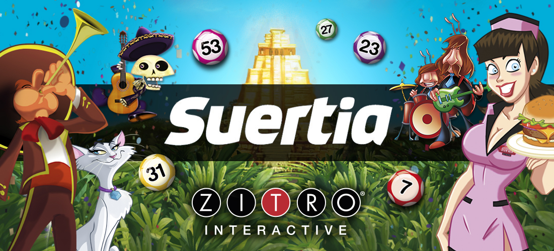 Zitro Is Expanding Its Offer Of Online Games On Suertia.Es