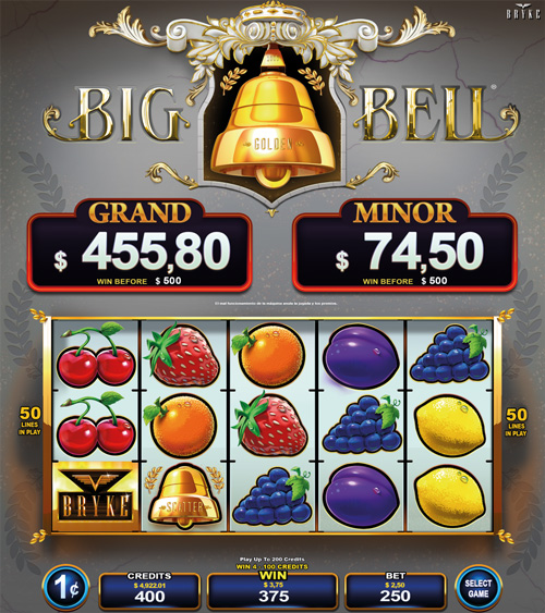 Video Slot - Multigame Standalone - Hot Deal - Big Golden Bellq