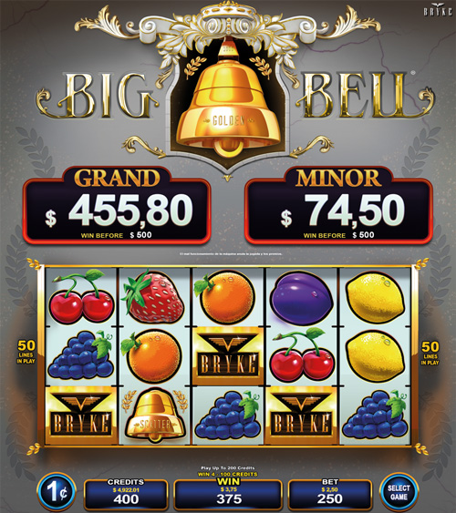 Video Slot - Multigame Standalone - Hot Deal - Big Golden Bell