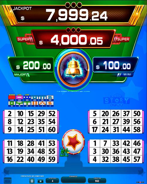 BingoLinkBingoStory_pantalla principal