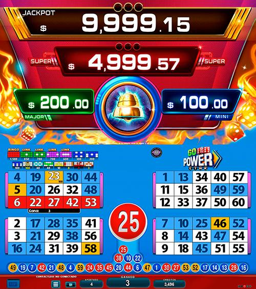 BingoLinkGoPower_pantalla