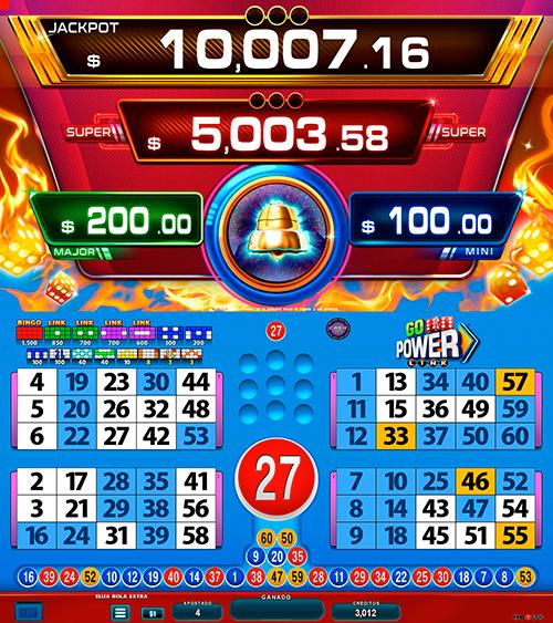 BingoLinkGoPower_partida extra