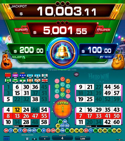 BingoLinkHallowin_partida extra