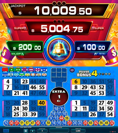 BingoLinkPower4Bonus_pantalla