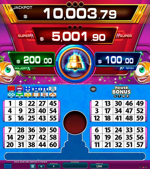 BingoLinkPowerBonus_pantalla principal