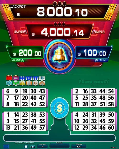 BingoLinkPowerEnergy_pantalla principal