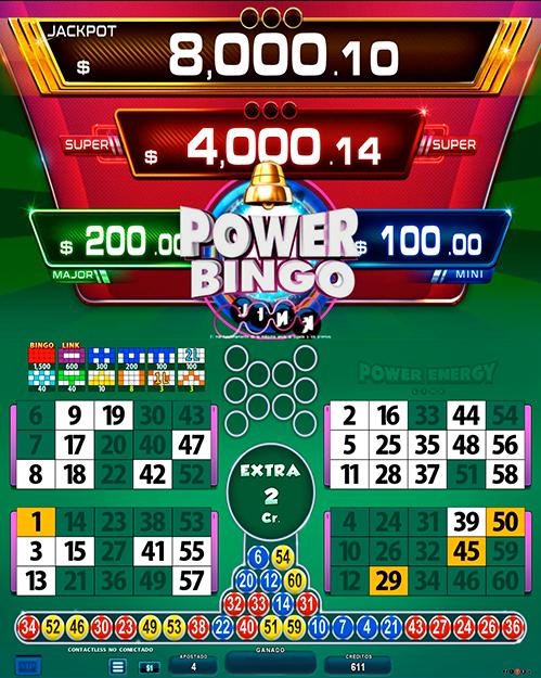BingoLinkPowerEnergy_partida extra