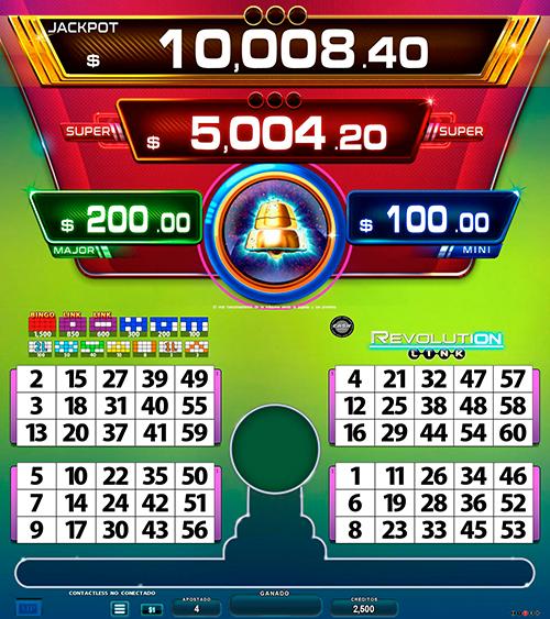 BingoLinkRevolution_pantalla principal