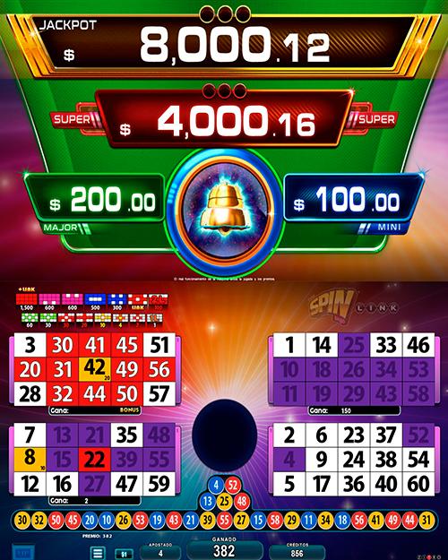 BingoLinkSpinBingo_pantalla