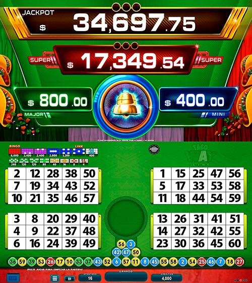 BingoLinkTacoway_pantalla principal