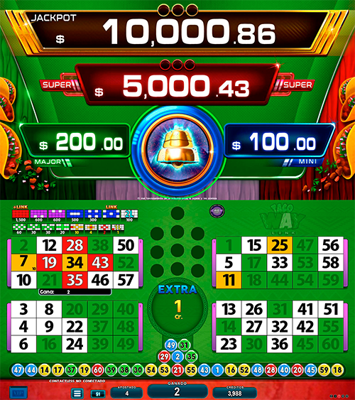 BingoLinkTacoway_partida extra