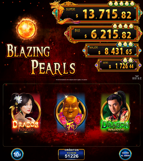 Video Slot - Multigame LAP - Blazing Pearls