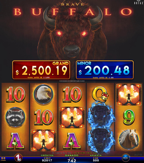 Zitro Games - Video Slot - Multigame Standalone - Brave Buffalo
