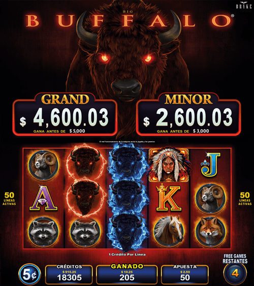 Video Slot - Multigame Standalone - Pick & Win - Big Buffalo
