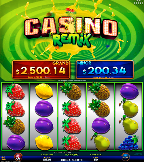 Video Slot - Multigame Standalone - Smart Spins - Casino Remix