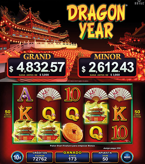 Video Slot - Multigame Standalone - Pick & Win - Dragon Year