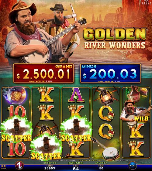 Zitro Games - Video Slot - Multigame Standalone - Golden River Wonde
